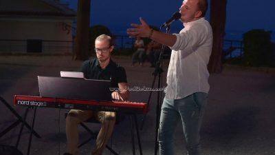 VIDEO/FOTO Antonio Krištofić i Mateo Žmak otvorili glazbeni program 29. Kastafskog kulturnog leta