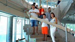 FOTO Turisti iz Češke i Slovačke razgledali veliku češku investiciju – hotel Hilton Costabella