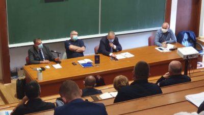 Marko Boras Mandić i Matko Škalamera sudjelovali na sastanku stožera CZ RH @ Zagreb
