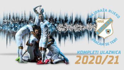 Ove srijede HNK Rijeka počinje s prodajom kompleta ulaznica za sezonu 2020.2021