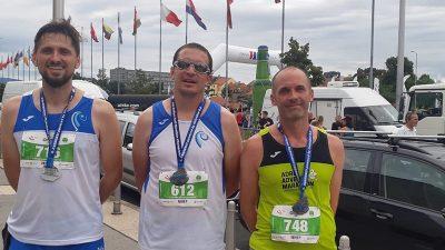 Kereković, Mance i Mendiković predstavljali AK Kvarner na Zagrebačkom polumaratonu