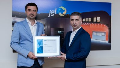 JGL po osmi put nagrađen certifikatom Poslodavac Partner