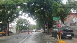 FOTO Radovi na Kantridi usporavaju promet i stvaraju kolone