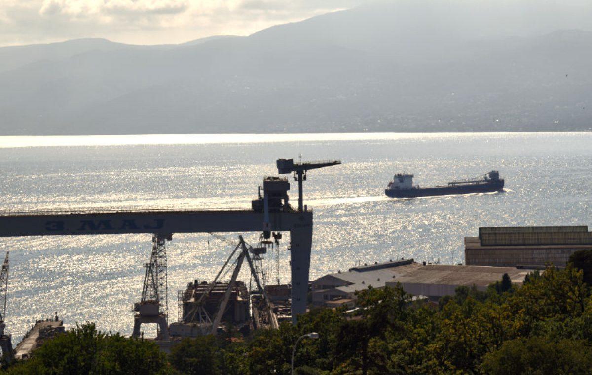 U OKO KAMERE Brod izgrađen u 3. maju na probnoj vožnji Kvarnerom