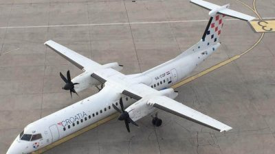 Croatia Airlines od danas ponovno prometuje na liniji Munchen – Rijeka