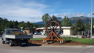 U OKU KAMERE Uređuje se kružni tok u Dražicama u spomen na sve mlinare na Rječini