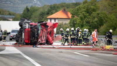 Teška prometna nesreća na autocesti @ Čavle