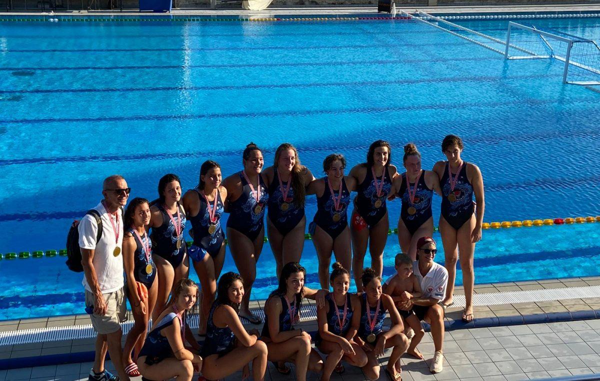 Seniorke VK Primorja EB osvojile broncu na prvenstvu Hrvatske