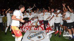 FOTO Pogledajte kako su igrači HNK Rijeka proslavili Rabuzinovo sunce