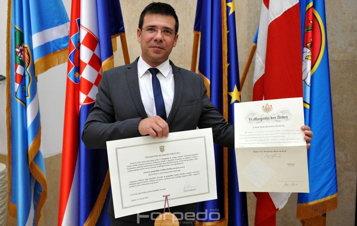 Marko Herak imenovan novim počasnim konzulom Kraljevine Danske u Rijeci
