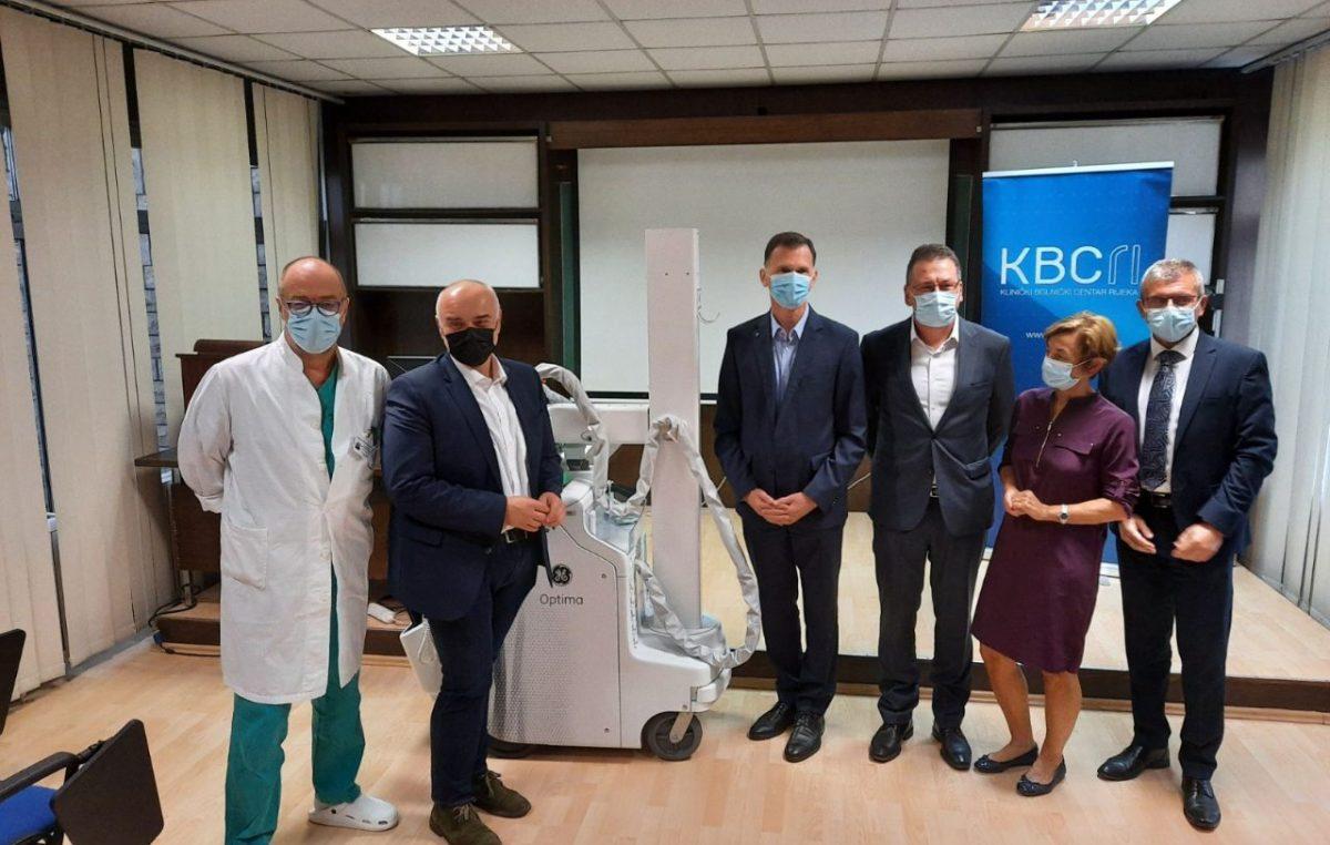 Jadranka donirala KBC-u Rijeka mobilni RTG uređaj vrijedan 630 tisuća kuna