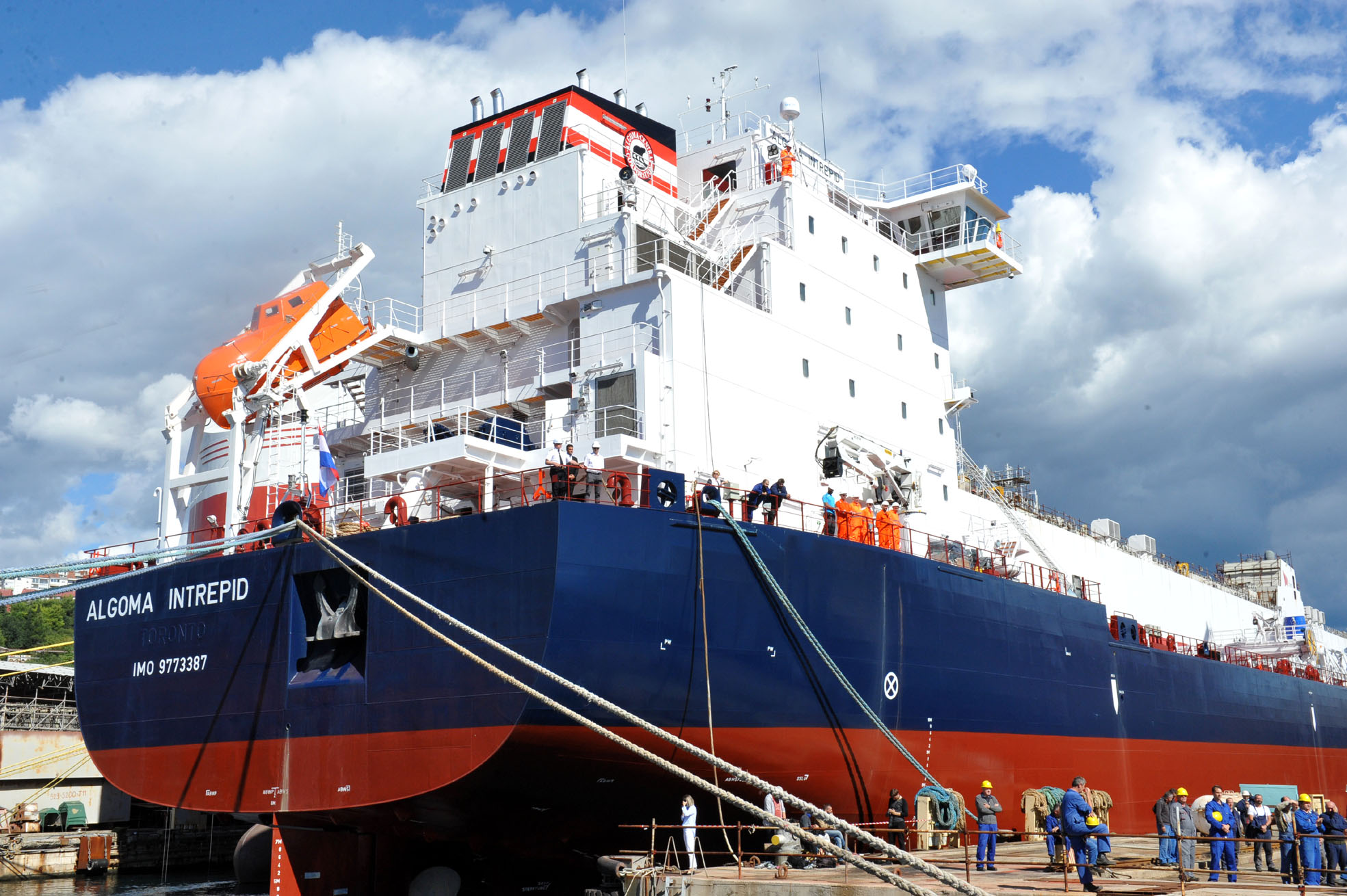 LABURISTI ČESTITALI 3. MAJU Možda će HDZ-ova Vlada konačno uvidjeti da brodogradnja ima budućnost