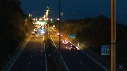 VIDEO U prometnoj nesreći kod Vrata Jadrana poginuo vozač Golfa, promet potpuno blokiran