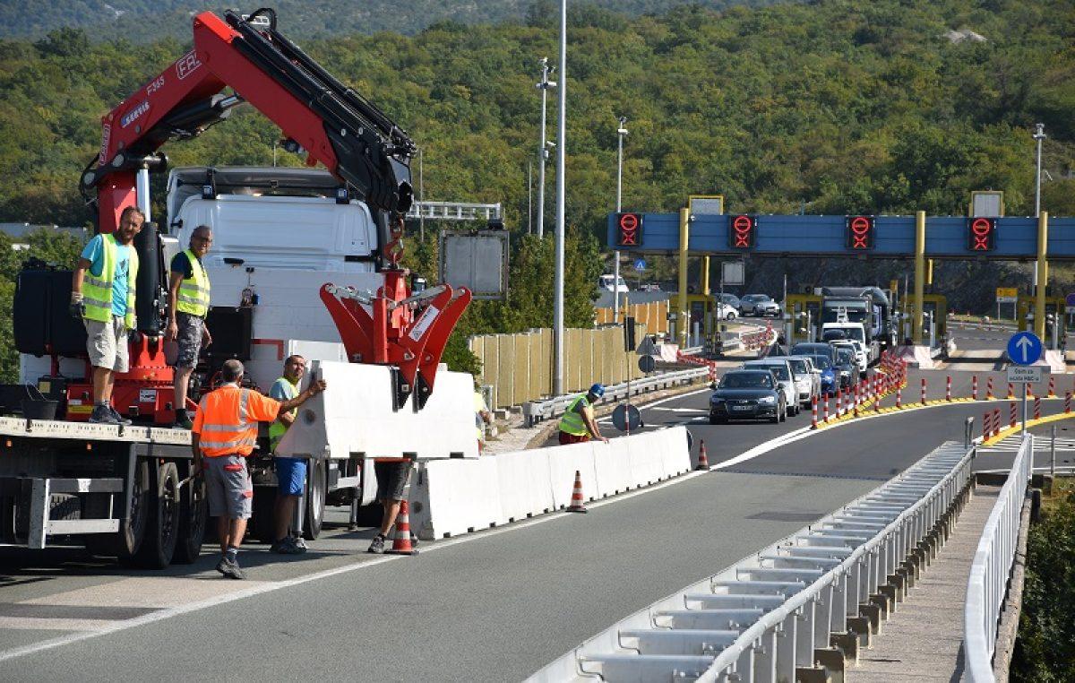 VIDEO Počela sanacija Krčkog mosta, promet jednom trakom sljedeće dvije godine