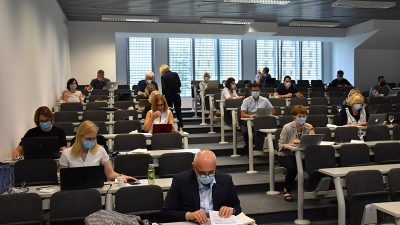 Održana sjednica Senata Sveučilišta u Rijeci – Dean Crnković imenovan pročelnikom Odjela za matematiku, Marina Ivašić Kos Odjela za informatiku