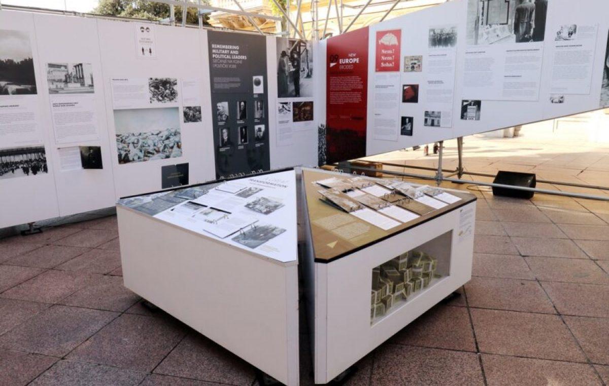 U centru Rijeke otvorena međunarodna izložba 'Nakon velikog rata. Nova Europa 1918. – 1923.'