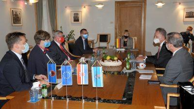 Njemački veleposlanik Nj.E. Robert Klinke u prvom službenom posjetu Gradu Rijeci i Primorsko-goranskoj županiji