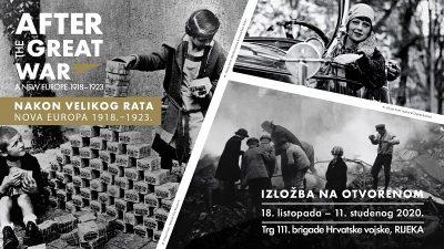 """Sutra se u centru Rijeke otvara međunarodna izložba """"Nakon Velikog rata. Nova Europa 1918. – 1923."""""""