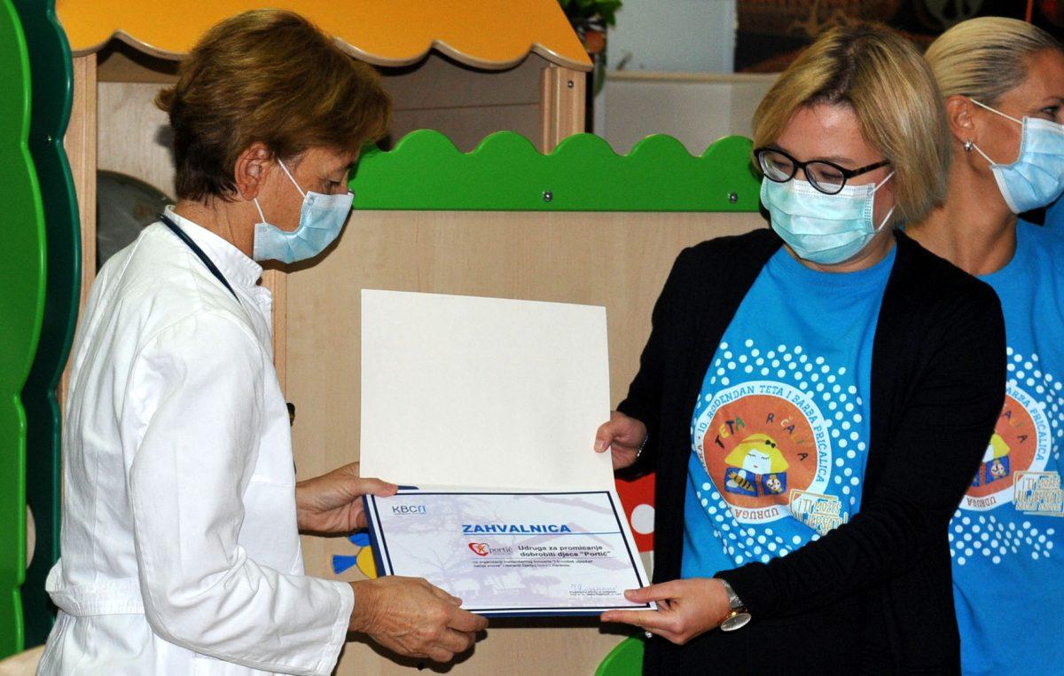 """Završetak humanitarne akcije """"I ti možeš uljepšati nečije snove"""" – svečano uručene donacije KBC-u Rijeka"""