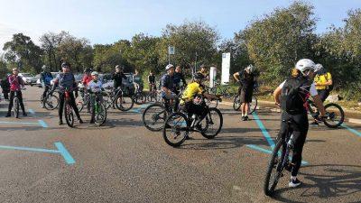 VIDEO Pedesetak sudionika okupilo se na drugom izdanju biciklističke ture Kostrena bike 2020.