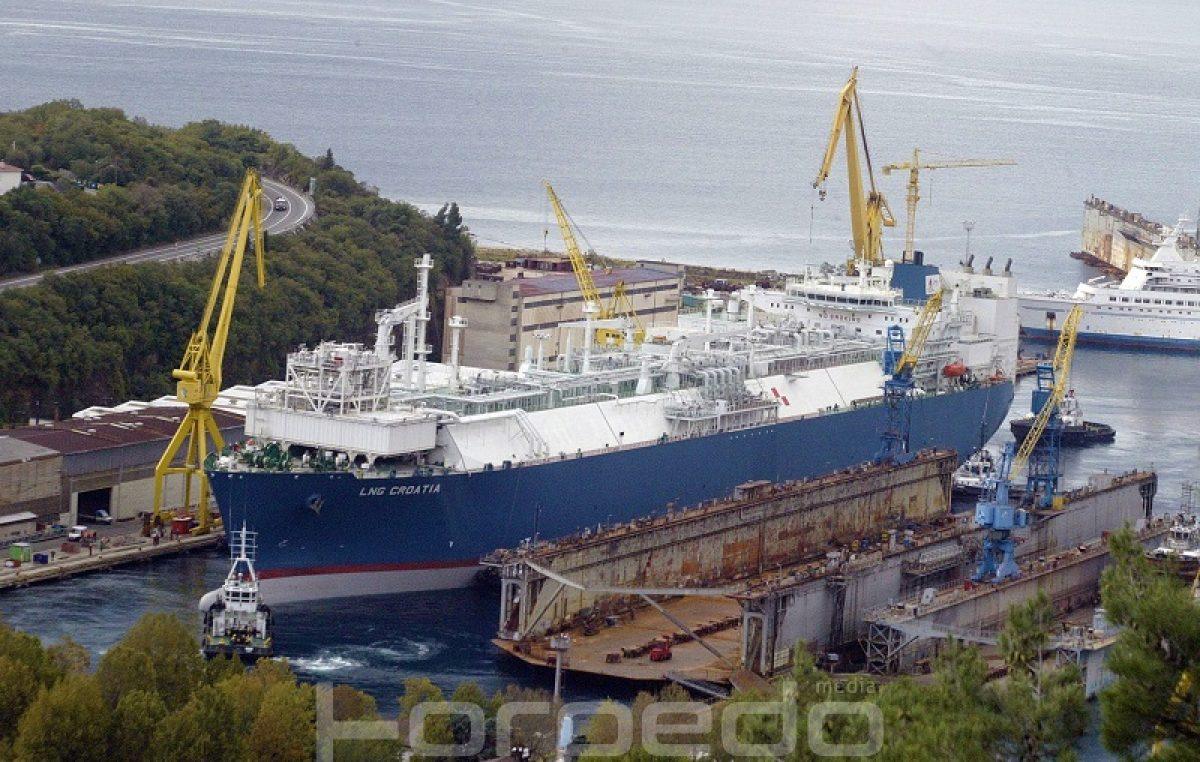 LNG Croatia uplovio u Lenac