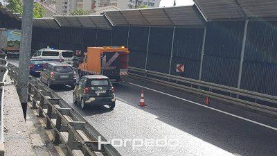 Prometna nesreća na zaobilaznici usporava promet u smjeru Zagreba