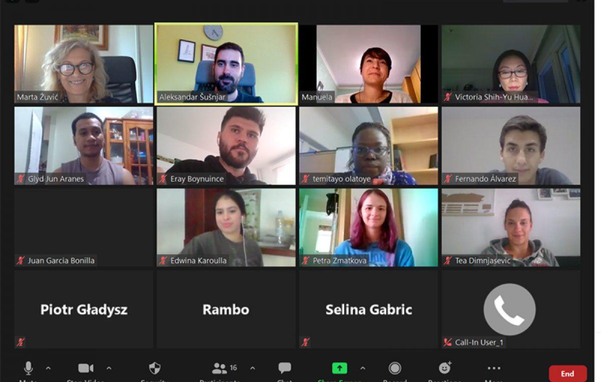 Sveučilište u Rijeci upisalo prvu online generaciju YUFE studenata