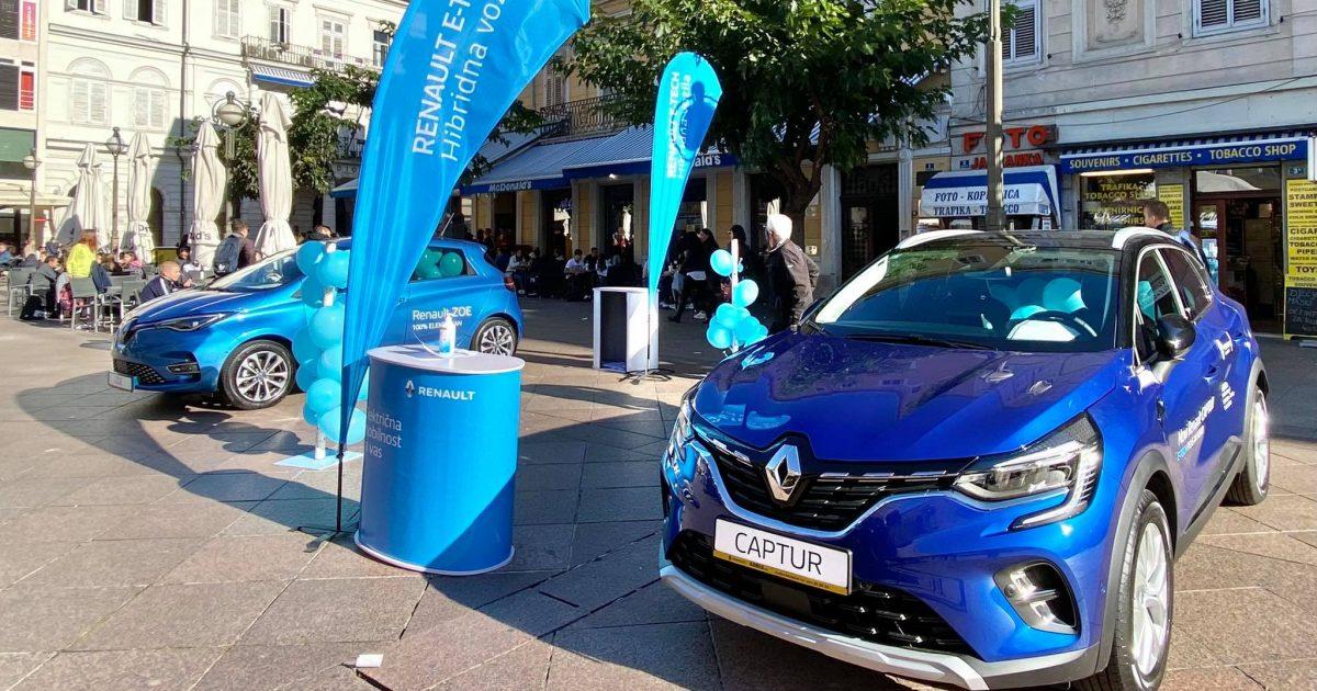 Riječani pokazali velik interes za električna i hibridna vozila, mogu ih isprobati još danas na Korzu