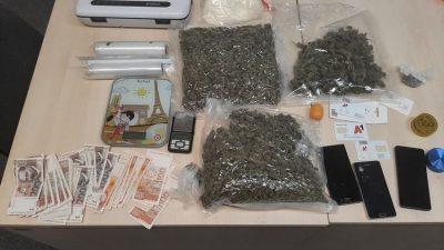 Opatijska policija zaplijenila više od 5 kilograma marihuane