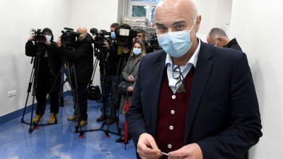 FOTO/VIDEO Ravnatelj Ružić: Pokušaj da se precvika naponski kabel dokazao je sigurnost bolničkog sustava
