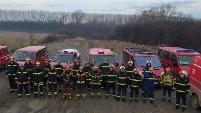 Prva smjena opatijskih vatrogasaca vratila se iz Petrinje, druga jutros krenula u ispomoć