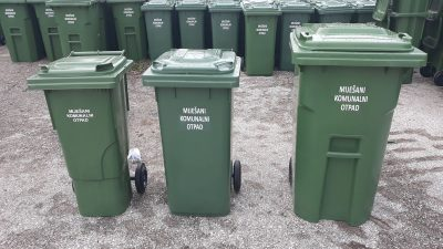 Završena prva faza podjele individualnih zelenih spremnika u Viškovu