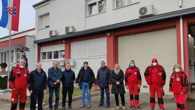 Predstavnici Grada Rijeke na potresom pogođeno područje dopremili novu pošiljku pomoći