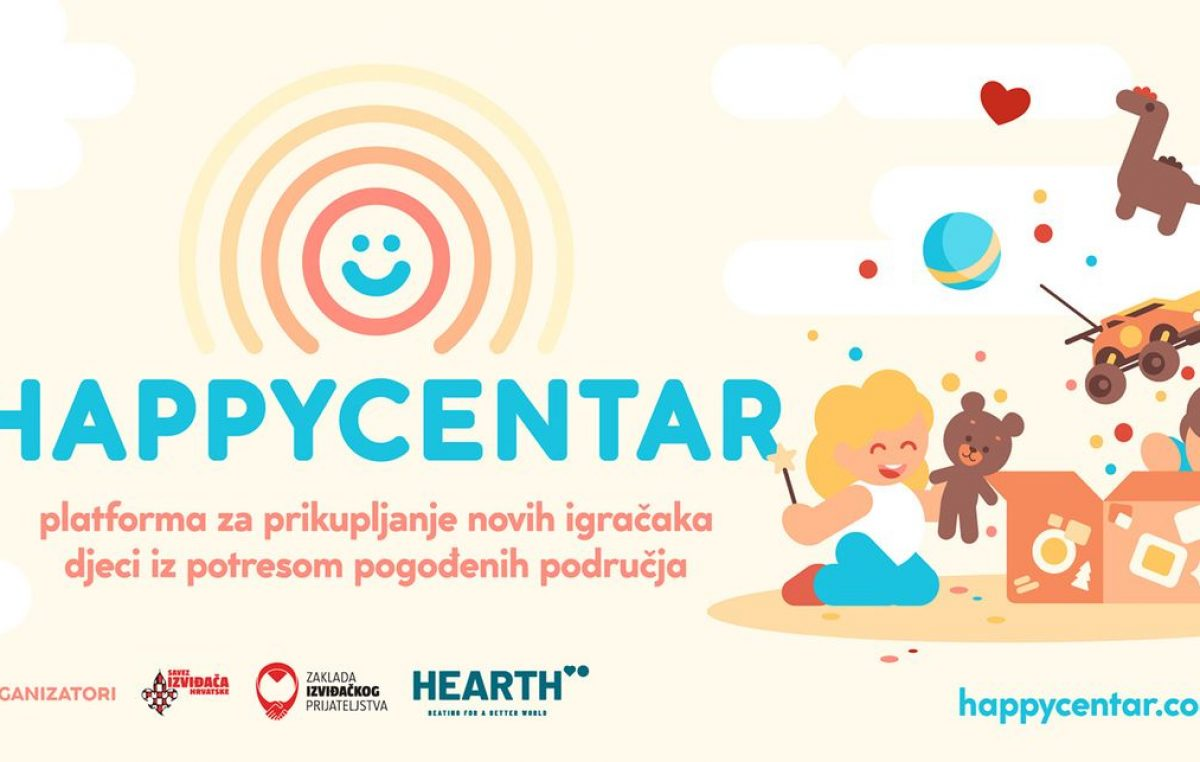 Izviđači s Kantride i iz Kostrene postali 'Happycentar' – platforma za prikupljanje igračaka djeci iz potresom pogođenih područja