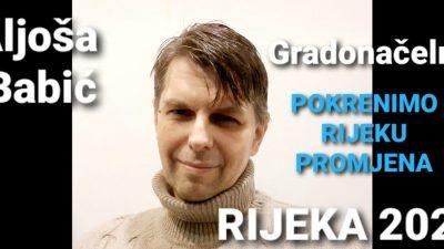 Kandidat za gradonačelnika Rijeke Aljoša Babić: Tko bude htio imat će svake godine priliku i u ringu pokazati što misli o meni kao gradonačelniku