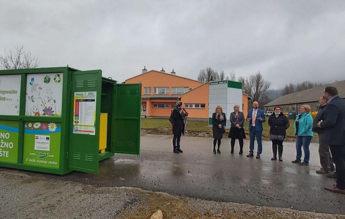 U Fužinama novo mobilno reciklažno dvorište