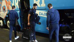 Nogometaši Rijeke pripreme za Jadranski derbi nastavljaju u Rovinju