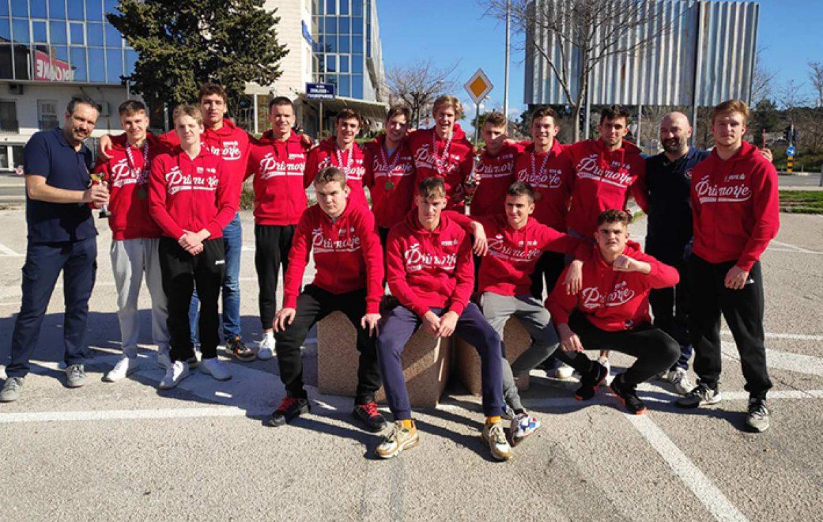 Mladi vaterpolisti Primorja brončani na Prvenstvu Hrvatske
