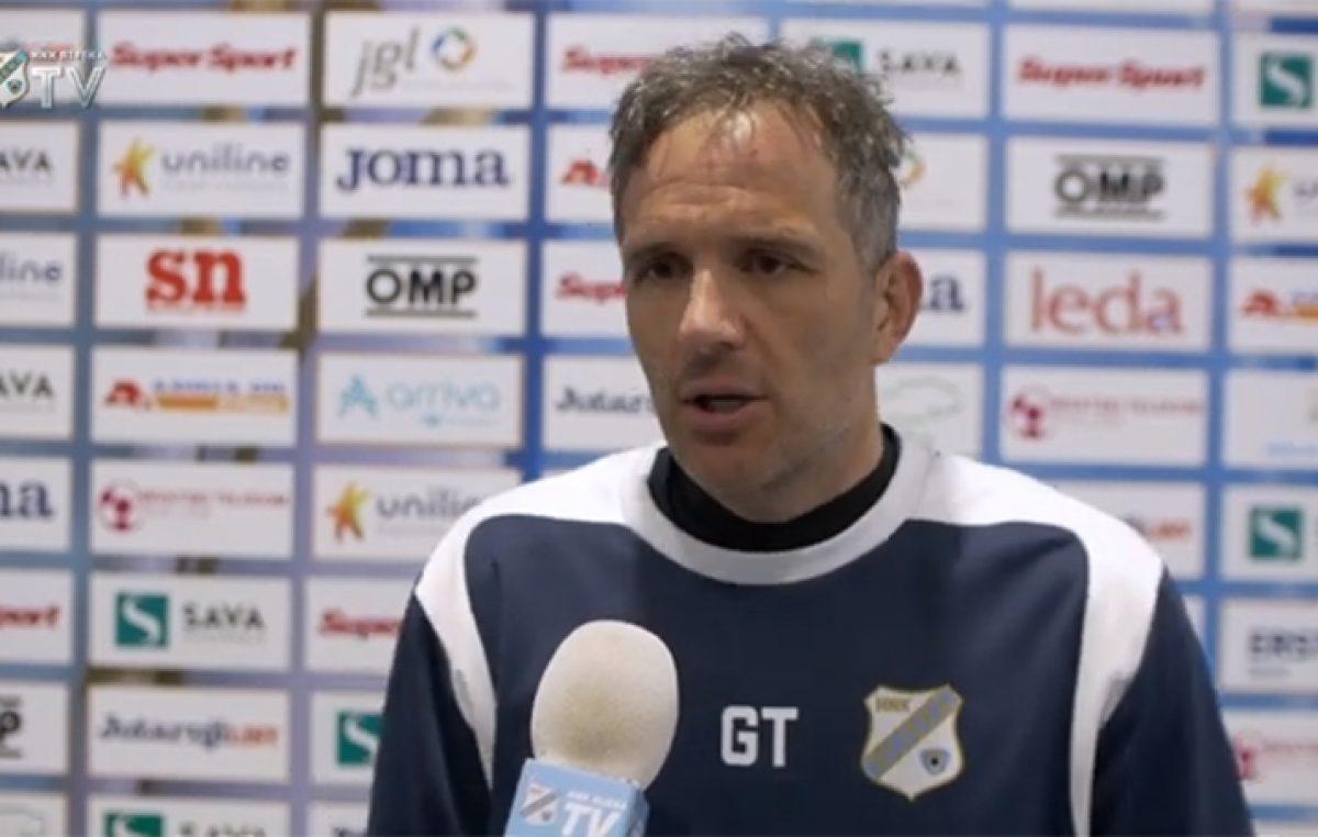Goran Tomić najavio utakmicu protiv Slaven Belupa: Očekujem da momčad pokaže pravo lice i da konačno na domaćem terenu osvojimo tri boda