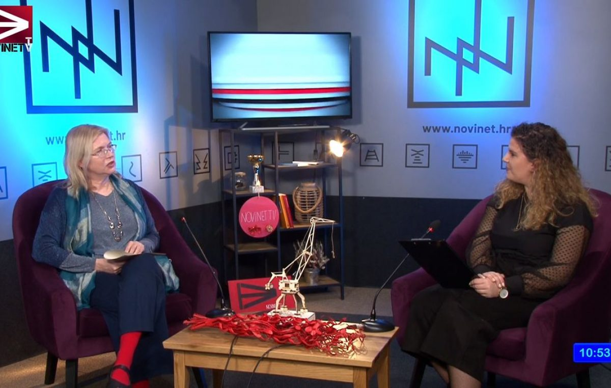 [VIDEO] Laura Marchig u emisiji Novinet.TV-a uoči premijere nevjerojatne riječke priče 'Alfa Romeo Jankovits' u Zajcu