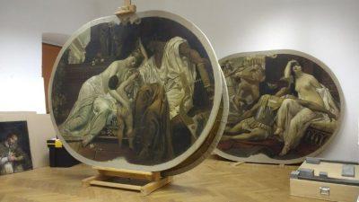 Uspješno restaurirane slike spremne za izložbu 'Nepoznati Klimt – ljubav, smrt, ekstaza'