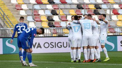 [FOTO] Rijeka – Lokomotiva 3:0, bijeli ostvarili petu uzastopnu prvenstvenu pobjedu