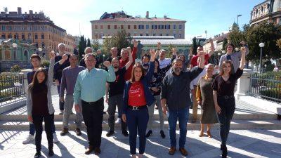 Radnička fronta predstavila listu za Rijeku i Kvarner i poručila: Vrijeme je za korjenite promjene!