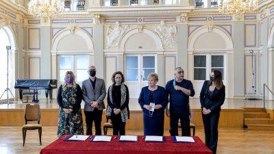 Potpisan Ugovor o stalnoj suradnji hrvatskih nacionalnih kazališta, na dobrobit umjetnika i publike