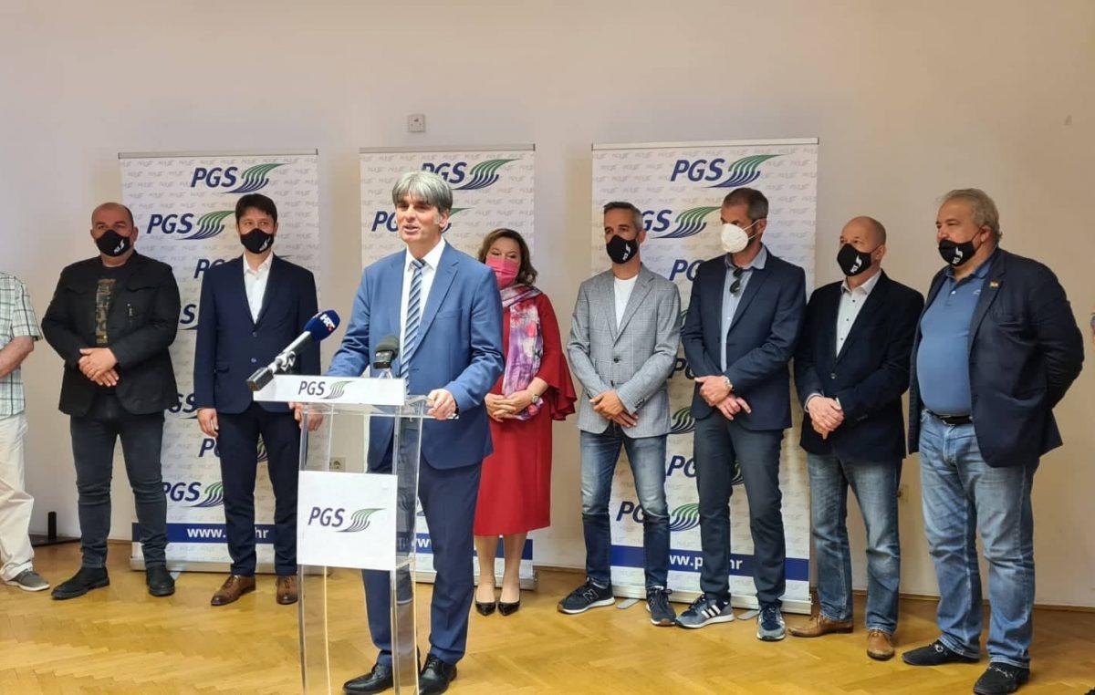 PGS predstavio svoje kandidate za izvršnu vlast