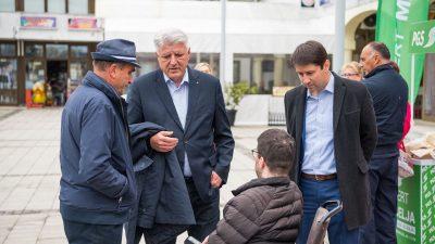 [VIDEO] Stabilnost i kontinuirani razvoj: Župan Zlatko Komadina dao podršku Robertu Marčelji