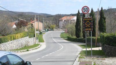 Viškovo: u mjere smirivanja prometa u godinu dana uloženo milijun kuna