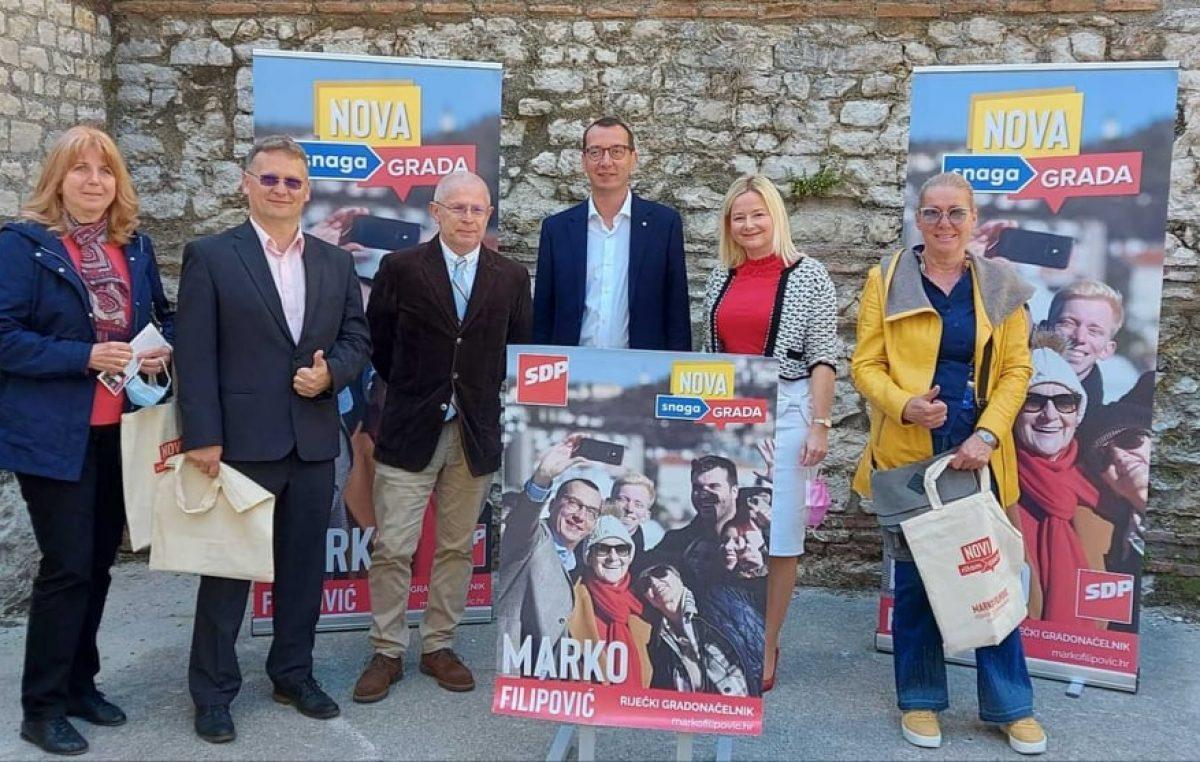 Marko Filipović predstavio izborni program: Pojačaj Rijeku za jedan novi ritam grada