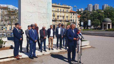 Zlatko Komadina predstavio kandidate s liste koalicije SDP-PGS-IDS-HSU-HSS