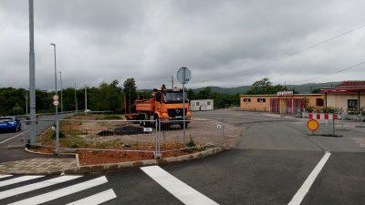 Počinje izgradnja parkirališta kod NK Halubjan